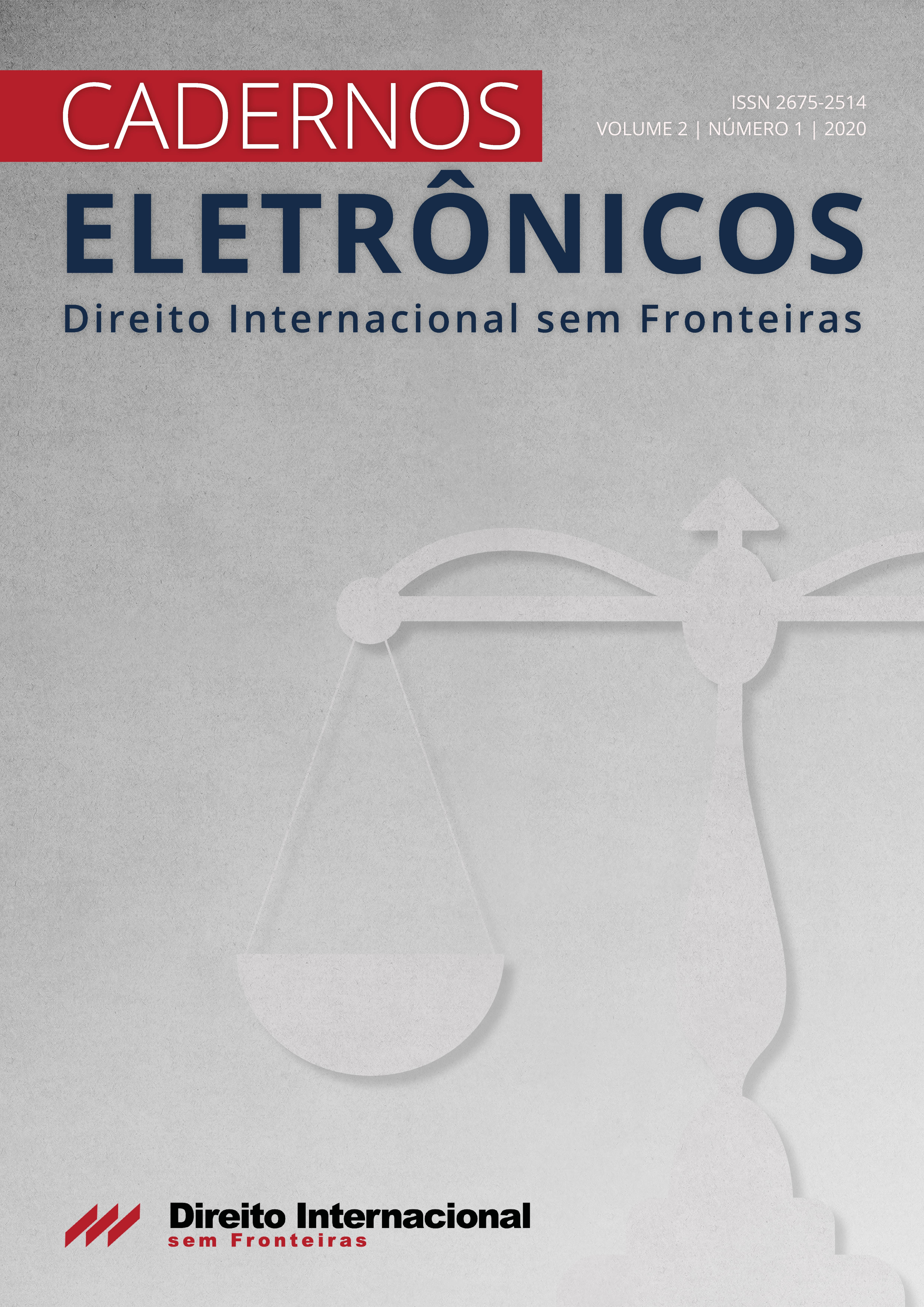 Cadernos Eletrônicos Direito Internacional sem Fronteiras, volume 2, número 1, 2020